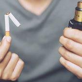 How do nicotine salt e-liquids compare to other smoking methods?